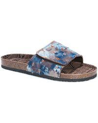 Muk Luks - Jackson Slide Sandal - Lyst