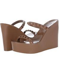 Carmen Sol - Tonino Studded Wedge Sandal - Lyst