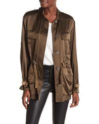 Theory - Thornwood Vintage Silk Jacket - Lyst