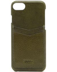 Fossil - Iphone 7 Leather Phone Case - Lyst