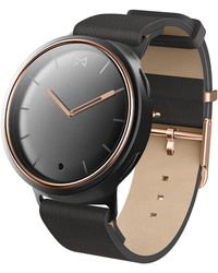 Misfit - Phase Hybrid Leather Strap Smartwatch, 40mm - Lyst
