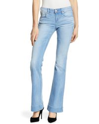 True Religion - Nikki Mid Rise Flare Jeans - Lyst