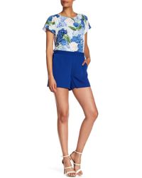 Cece by Cynthia Steffe - Soft Crepe Shorts - Lyst