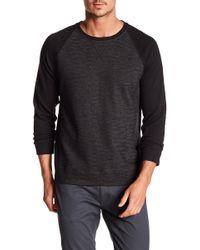 DKNY - Raglan Sleeve Baseball Shirt - Lyst