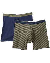 CALVIN KLEIN 205W39NYC - Classic Fit Boxer Brief - Pack Of 2 - Lyst