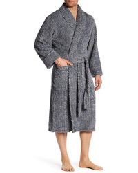 Daniel Buchler - Mosaic Stripe Plush Robe - Lyst