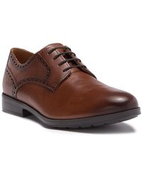 77a9ec62a3 Geox - Hilstone Plain Toe Derby - Lyst