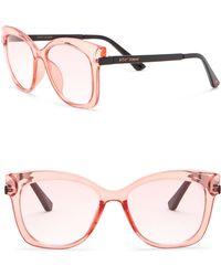 Betsey Johnson - Square Sunglasses - Lyst