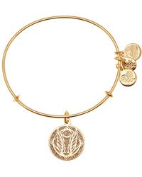 ALEX AND ANI - Godspeed Colour Infusion Expandable Wire Charm Bracelet - Lyst