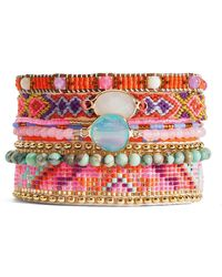 Hipanema - Summer Crystal Bracelet - Lyst