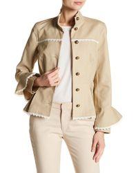 Nanette Nanette Lepore - Peplum Military Flare Sleeved Jacket - Lyst
