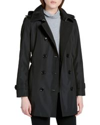 CALVIN KLEIN 205W39NYC - Double Breasted Trench Coat - Lyst
