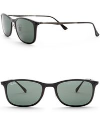 Ray-Ban - Unisex Rectangle Light Ray Sunglasses - Lyst