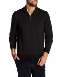 Vince Camuto - Long Sleeve Quarter Zip Pullover - Lyst