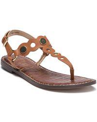 Sam Edelman - Gilly T-strap Sandal (women) - Lyst