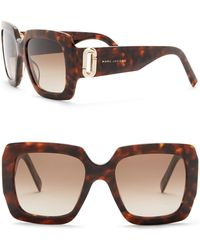 Marc Jacobs - Women's 53mm Oversized Square Sunglasses - Lyst
