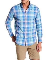 Peter Millar - Colt Multi Plaid Perfomance Athletic Fit Shirt - Lyst