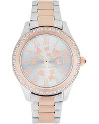 Christian Lacroix - Women's Butterfly Crystal Bracelet Watch, 37.5mm - Lyst