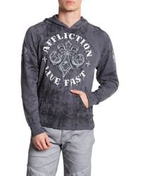Affliction - Royale Rust Hood - Lyst