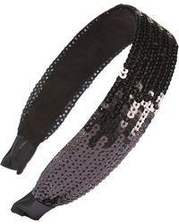 Cara - Sequin Headband - Lyst