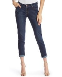Joan Vass - Girlfriend Cropped Jeans - Lyst