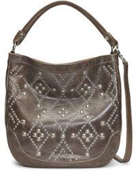 Frye - Melissa Native Sun Studded Leather Shoulder Bag - Lyst