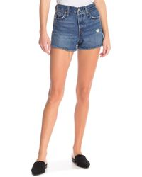 Levi's - Wedgie High Rise Jean Shorts - Lyst