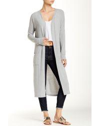 Vero Moda - Long Knit Cardigan - Lyst