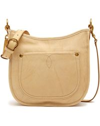 Frye - Campus Rivet Leather Crossbody Bag - Lyst