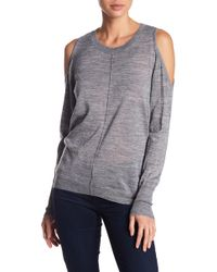 Love Token | Cold Shoulder Sweater | Lyst