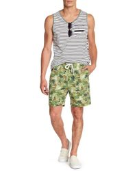 Sovereign Code - Skedaddle Palm Tree Print Shorts - Lyst