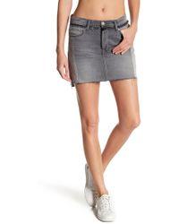FRAME - Nouveau Le Mix Mini Skirt - Lyst