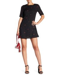 Honey Punch - Floral Embroidery Dress - Lyst