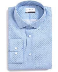 Calibrate - Trim Fit Print Dress Shirt - Lyst