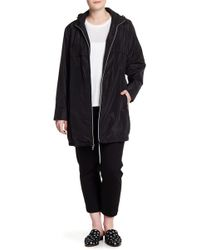 Via Spiga - Babydoll Hooded Jacket (plus Size) - Lyst
