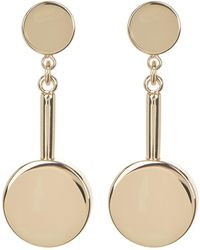 Trina Turk - Double Disc Drop Earrings - Lyst