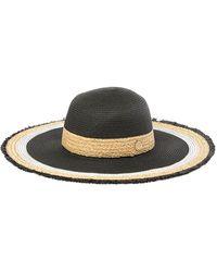 f2599b0b5 Lyst - Vince Camuto Studded Floppy Wool Hat in Black