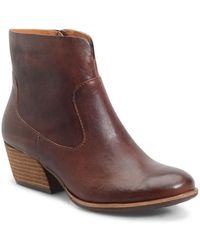 Kork-Ease - Sherrill Leather Ankle Boots - Lyst
