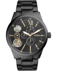 Fossil - Men's Flynn Chronograph Bracelet Watch, 48mm - Lyst