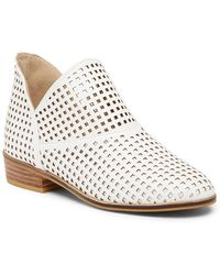 Catherine Malandrino - Arya Perforated Short Bootie - Lyst