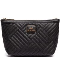 Love Moschino - Pebbeled Travel Bag - Lyst