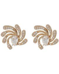 Nadri - Dappled Stud Cz Stud Earrings - Lyst