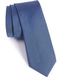 Calibrate - Veloutine Woven Silk Skinny Tie - Lyst