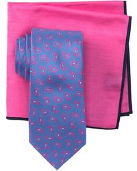 Ted Baker - Tossed Pine Neat Tie Set - Lyst