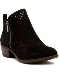 Lucky Brand - Basel Perforated Bootie - Lyst