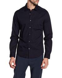 Vince - Garment Washed Shirt - Lyst