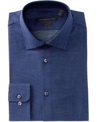 John Varvatos - Pin Dot Slim Fit Dress Shirt - Lyst
