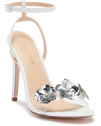 In Touch Footwear - Gigi Floral Ankle Strap Sandal - Lyst