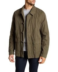 James Perse - Twill Utility Jacket - Lyst