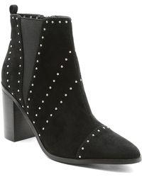 Kensie - Delanie Studded Block Heel Bootie - Lyst
